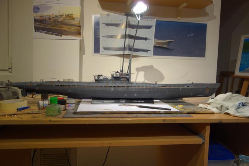 U-boot typ IX C/40 (U-190) Revell 1/72 - Page 4 Dsc04473