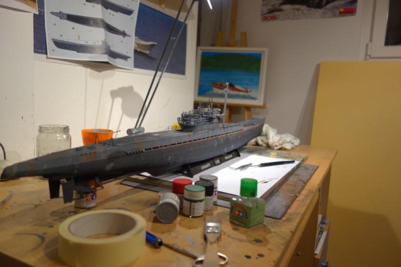 U-boot typ IX C/40 (U-190) Revell 1/72 - Page 4 Dsc04476