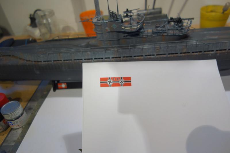 U-boot typ IX C/40 (U-190) Revell 1/72 - Page 2 Dsc04479