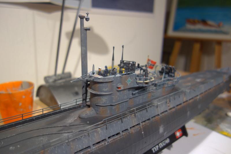 U-boot typ IX C/40 (U-190) Revell 1/72 - Page 2 Dsc04486