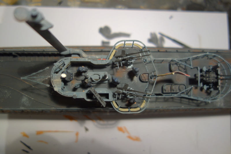 U-boot typ IX C/40 (U-190) Revell 1/72 - Page 4 Dsc04487