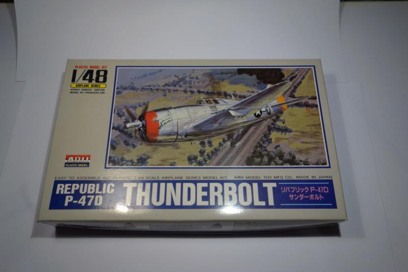 Republic P-47 D Thunderbol - 1/48 - Arii model Dsc04513