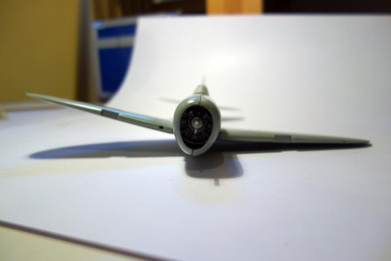 Republic P-47 D Thunderbol - 1/48 - Arii model Dsc04531