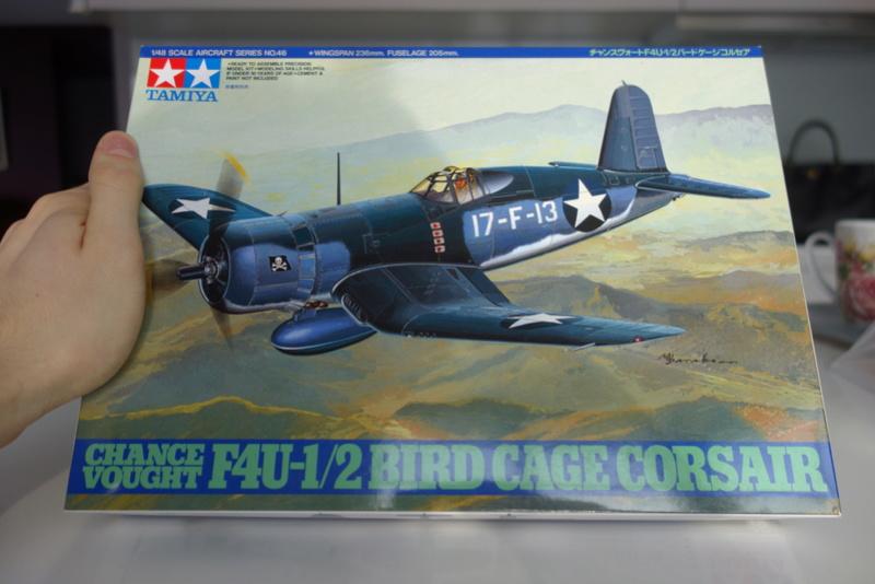 Chance Vought F4U-1 Corsair Birdcage Dsc04540