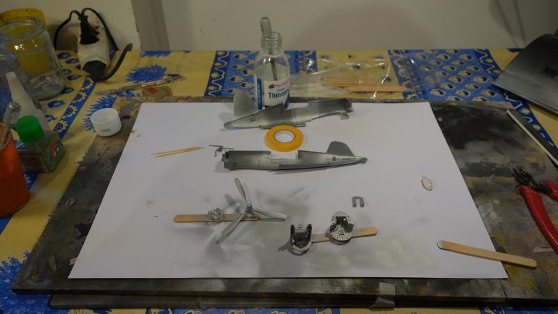 Chance Vought F4U-1 Corsair Birdcage Dsc04544