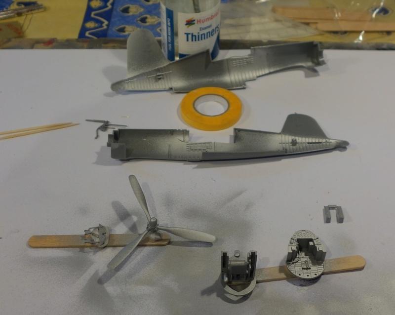 Chance Vought F4U-1 Corsair Birdcage Dsc04546