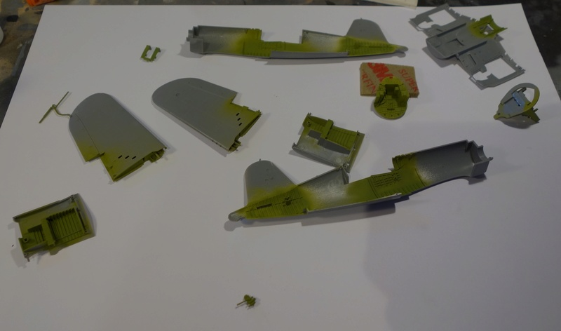 Chance Vought F4U-1 Corsair Birdcage Dsc04548