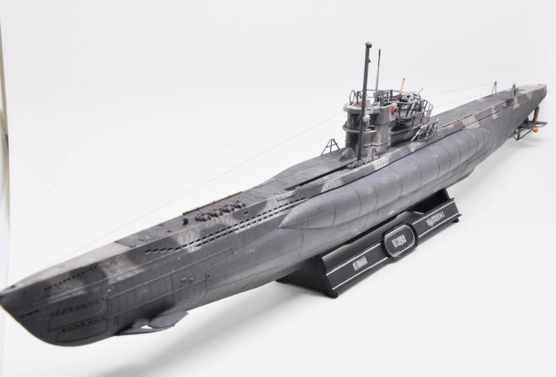 U-Boot TYP VII C/41 Revell 1/144 Dsc_0012