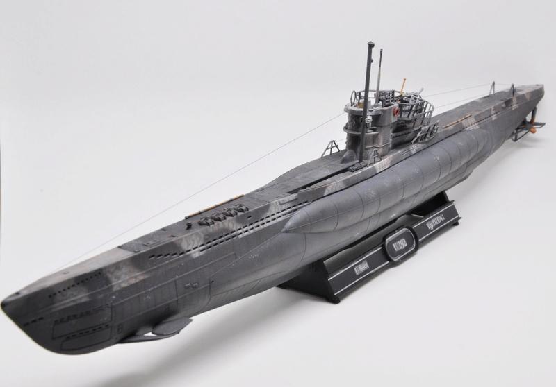 U-Boot TYP VII C/41 Revell 1/144 Dsc_0014