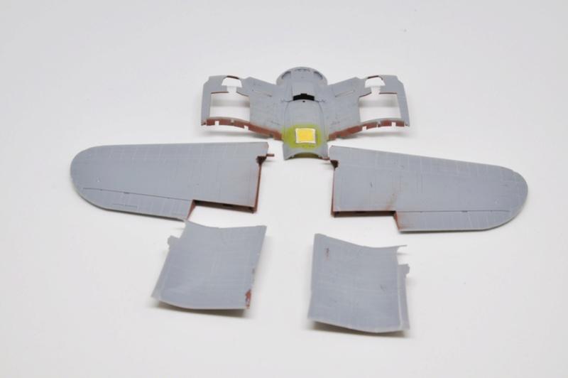 Chance Vought F4U-1 Corsair Birdcage Dsc_0054
