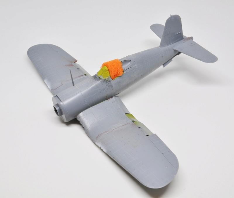 Chance Vought F4U-1 Corsair Birdcage Dsc_0061