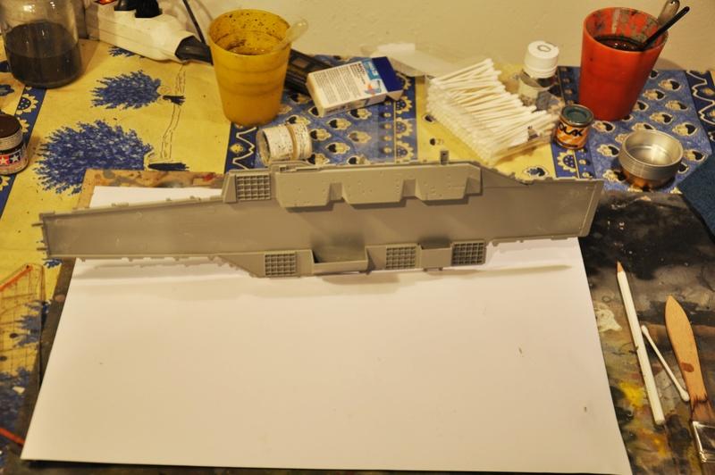 Diorama USS Saratoga - Italeri 1/720 Dsc_0292