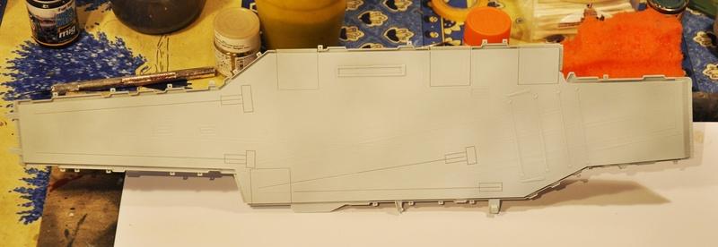 Diorama USS Saratoga - Italeri 1/720 Dsc_0296