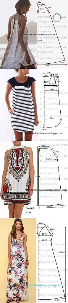 Cartamodelli semplicissimi vestitini estivi Vestit10