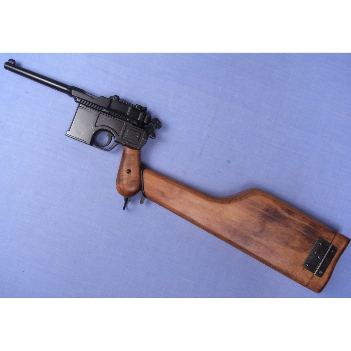 Le revolver 1882 pour cycliste - Page 2 Mauser10