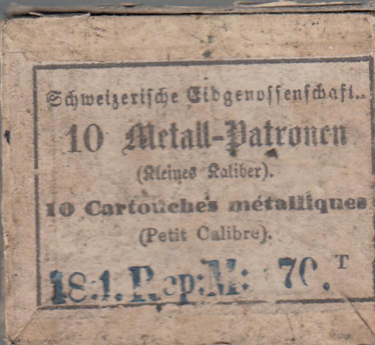 Munitions petit calibre Milbank-Amsler 1851 / 67 et 1863 / 67 Petit_10