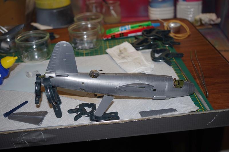 Martin B-26 Marauder - Revell - 1/72 Imgp1515