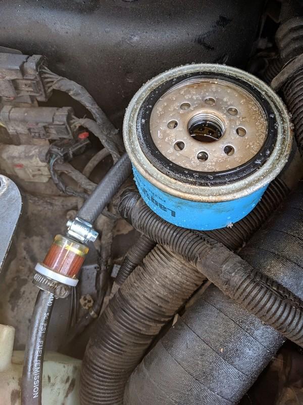 S3 2.5 Td - Retour sur autoroute à 70 km/h max et cale a la décelération Filtre11
