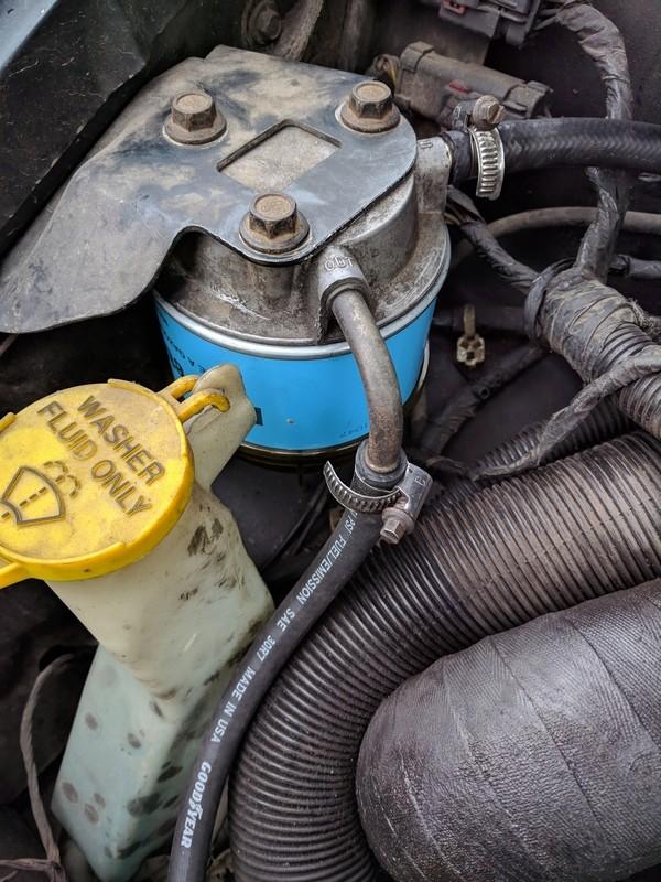 S3 2.5 Td - Retour sur autoroute à 70 km/h max et cale a la décelération Filtre12