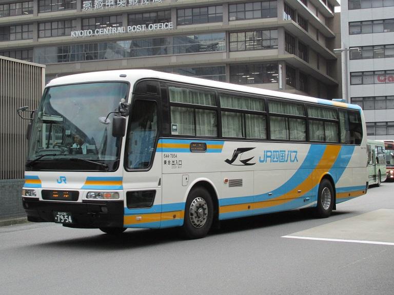 [2014年の夏][京都市] JR四国バス (高速バス) Img_0117