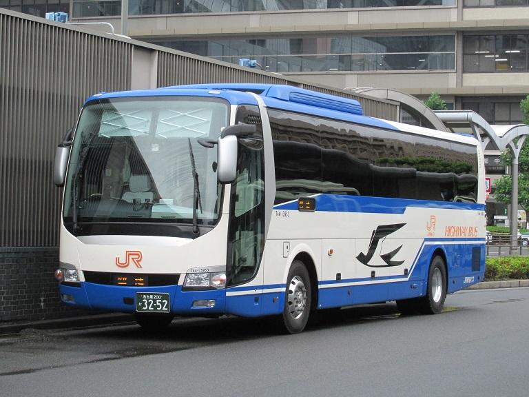 [2014年の夏][京都市] JR東海バス (高速バス) Img_0418