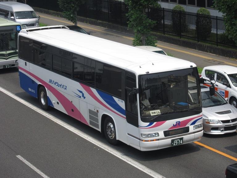 [2013年の夏][京都市] 西日本JRバス (高速バス) Img_0816