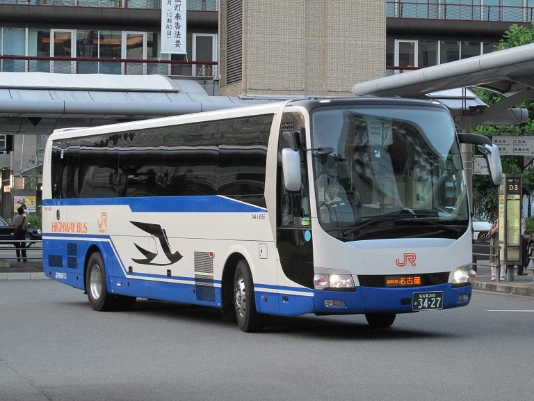 [2016年の夏][京都市] JR東海バス (高速バス) Img_1711