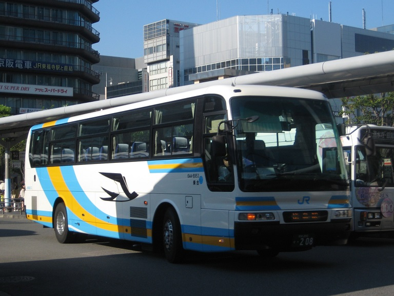 [2014年の夏][京都市] JR四国バス (高速バス) Img_2918