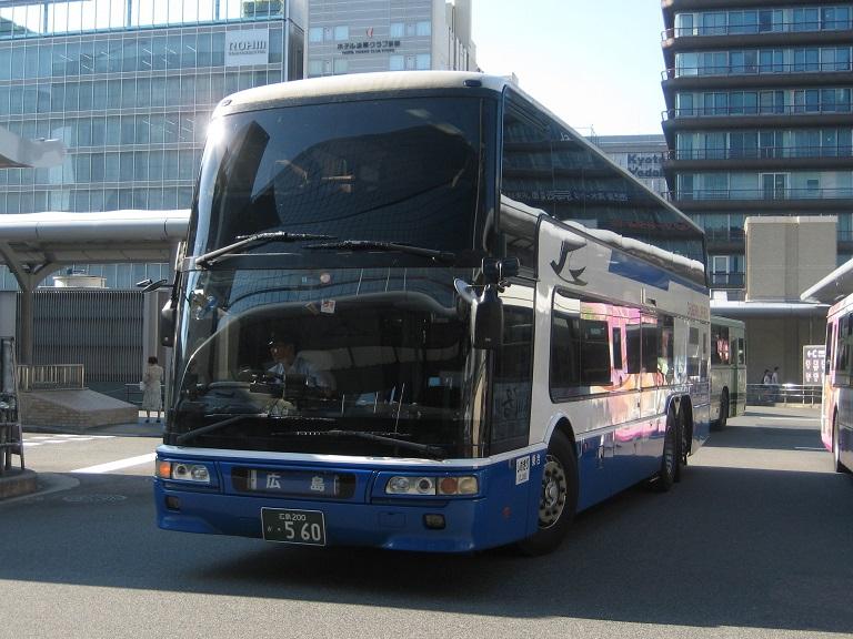 [2014年の夏][京都市] 中国JRバス (高速バス) Img_3012
