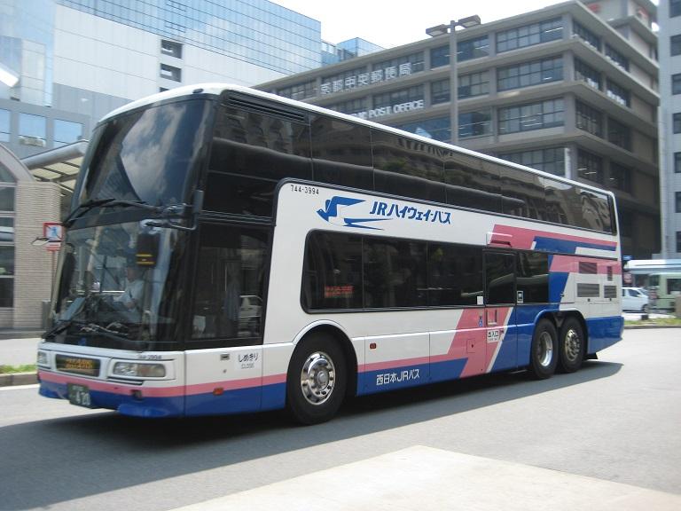 [2014年の夏][京都市] 西日本JRバス (高速バス) Img_3312