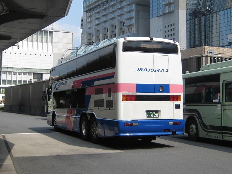 [2014年の夏][京都市] 西日本JRバス (高速バス) Img_3313