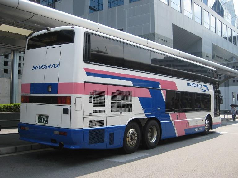 [2014年の夏][京都市] 西日本JRバス (高速バス) Img_3314