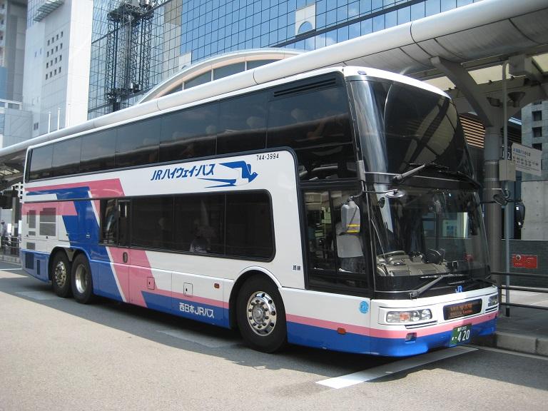 [2014年の夏][京都市] 西日本JRバス (高速バス) Img_3315