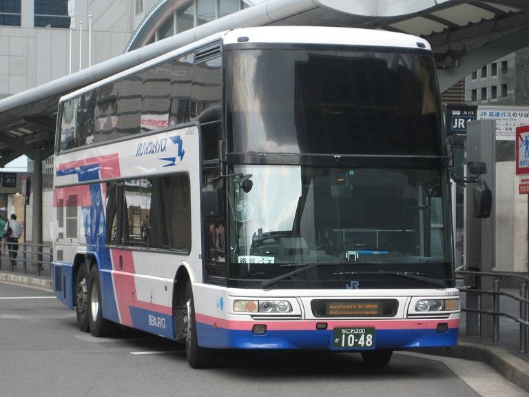 [2014年の夏][京都市] 西日本JRバス (高速バス) Img_3512