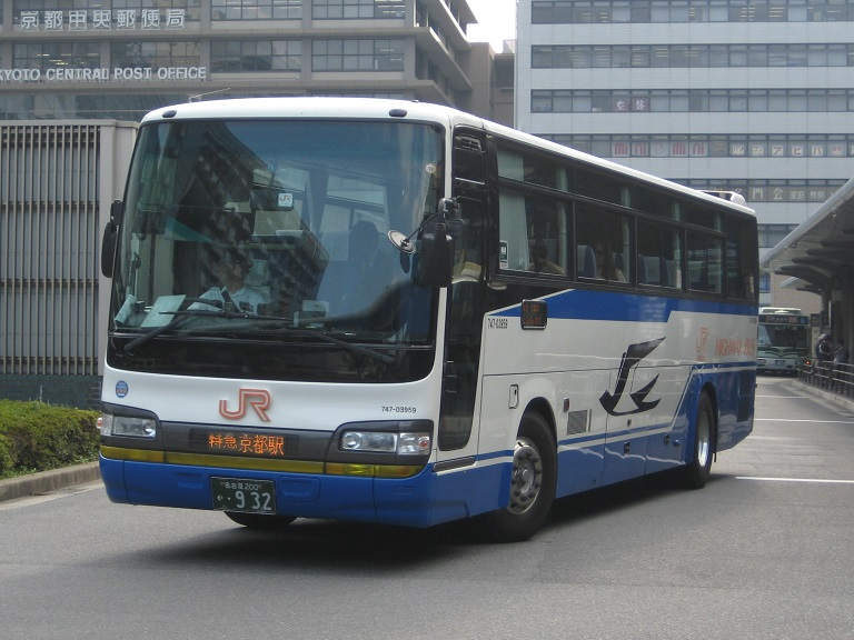 [2014年の夏][京都市] JR東海バス (高速バス) Img_3517