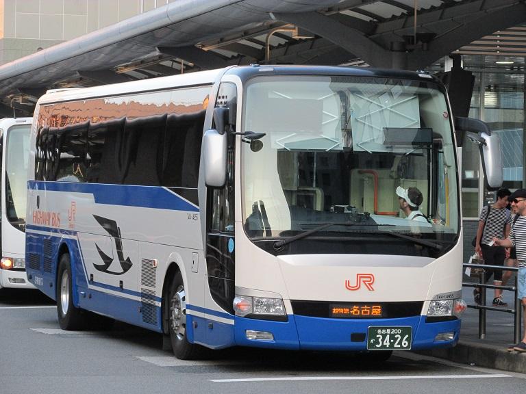 [2016年の夏][京都市] JR東海バス (高速バス) Img_3914