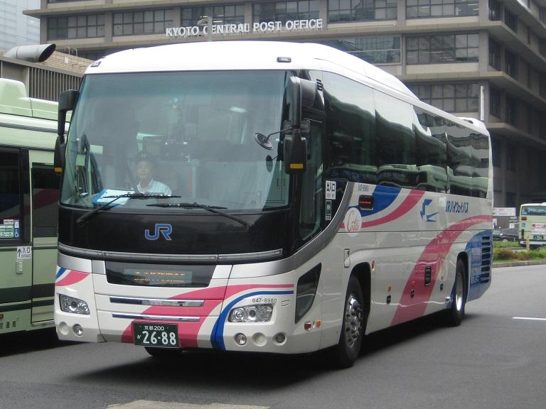 [2014年の夏][京都市] 西日本JRバス (高速バス) Img_4012