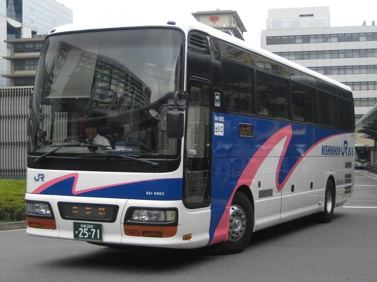 [2014年の夏][京都市] 西日本JRバス (高速バス) Img_4013