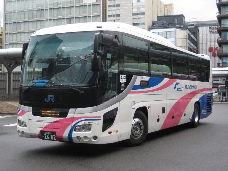 [2014年の夏][京都市] 西日本JRバス (高速バス) Img_4411