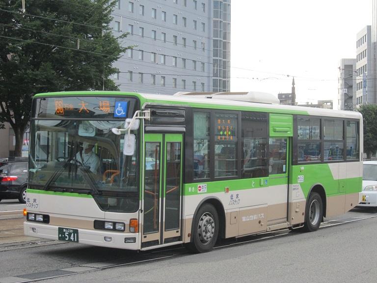 [2014年の夏][富山市] 富山地鉄バス Img_4414
