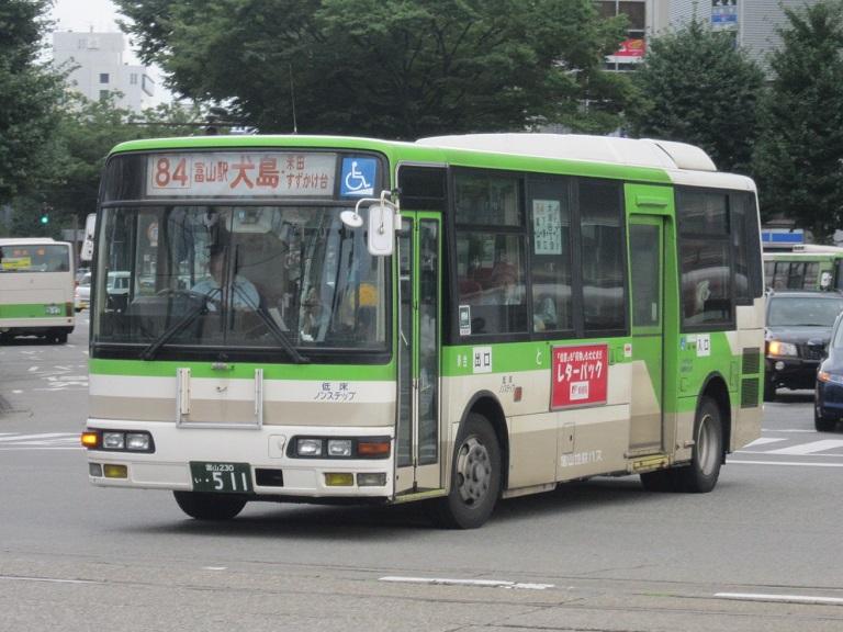 [2014年の夏][富山市] 富山地鉄バス Img_4415