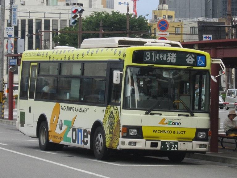 [2014年の夏][富山市] 富山地鉄バス Img_4417