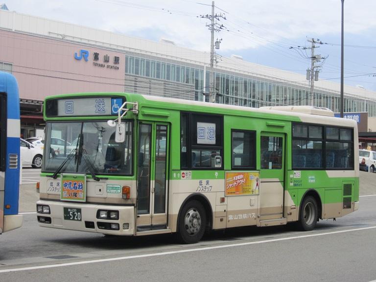 [2014年の夏][富山市] 富山地鉄バス Img_4418