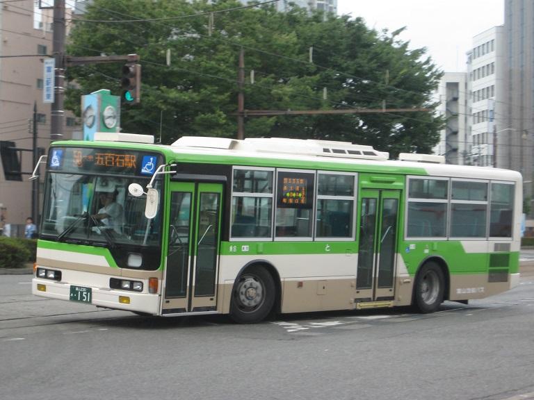 [2014年の夏][富山市] 富山地鉄バス Img_4816