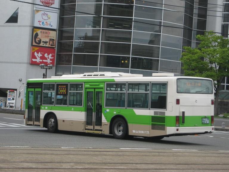 [2014年の夏][富山市] 富山地鉄バス Img_4817