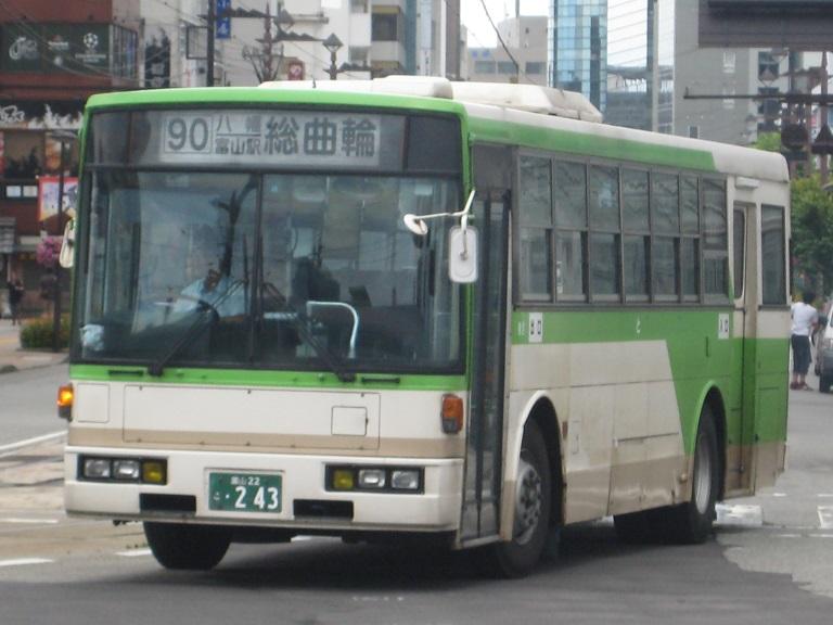[2014年の夏][富山市] 富山地鉄バス Img_4818