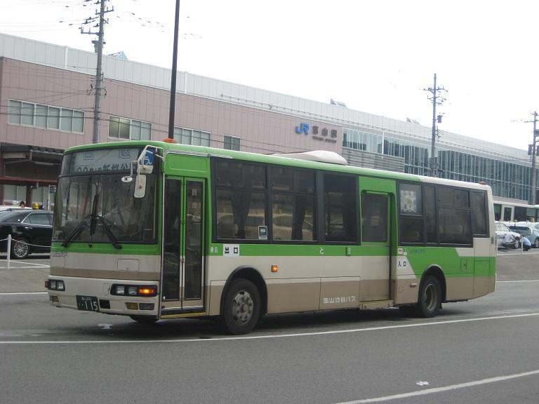 [2014年の夏][富山市] 富山地鉄バス Img_4824