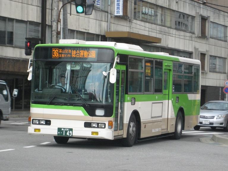[2014年の夏][富山市] 富山地鉄バス Img_4826