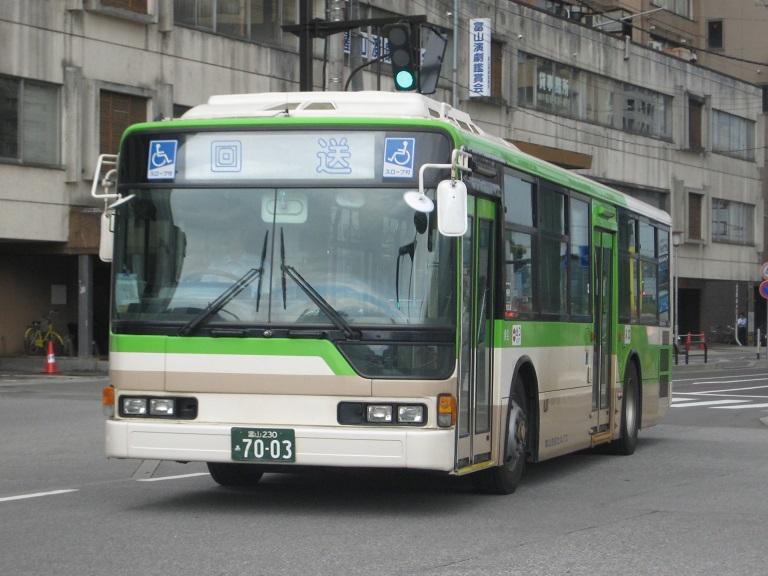 [2014年の夏][富山市] 富山地鉄バス Img_4827