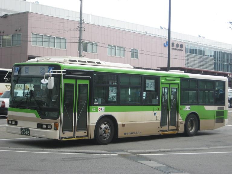 [2014年の夏][富山市] 富山地鉄バス Img_4828